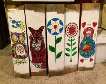 Folk Art Panels