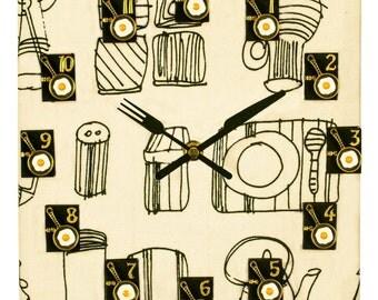 "Wall Clocks ""Recipe book - 1"""