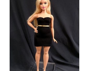 Dolls dress for CURVY barbie - No.2351