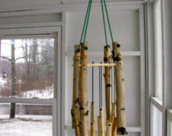 Wood Mobile # 90 Birch & Maple