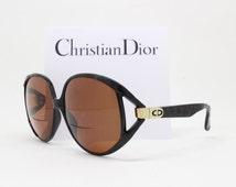 Christian Dior sunglasses, optyl frame, made in Germany, designer eyewear, oversized glasses, 70s eyeglasses