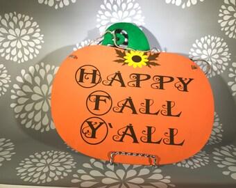 Fall door hanger, Halloween door hanger, double sided door hanger, Halloween decor, fall decor, Autumn decor, rustic home decor