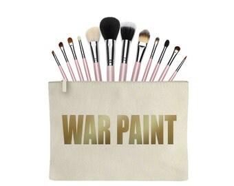 War Paint Make up Case Bag