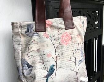 Bag vintage birds