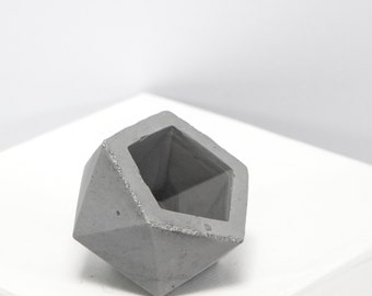 Mini Concrete Geometric Grey ico