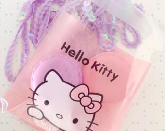 Hello Kitty Kawaii doily cello gift bag 20 set