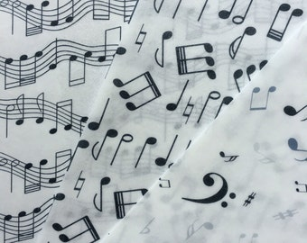 Music Notes Edible Wafer Paper