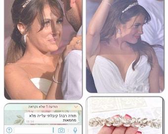Wedding headband, Swarovski and Pearl headband, Bridal Tiara, Bridal Hair Accessory, Wedding hair Accessory, wedding crown