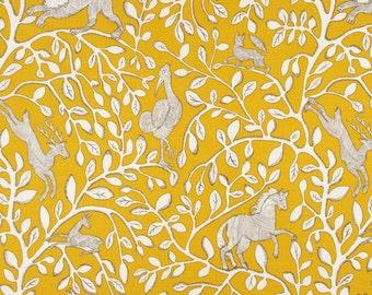 Robert Allen Dwell Studio Pantheon Animal Fabric
