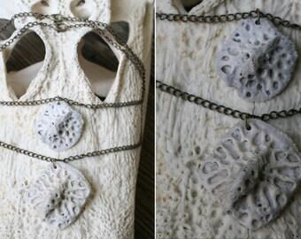 Alligator Scute Bone Necklace