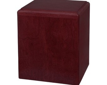 Rosewood Madison Wood Cremation Urn