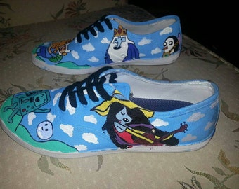 Custom Painted Women's Shoes