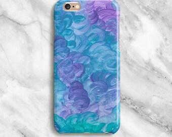iPhone 6s Case - Blue Purple iPhone 6s Plus Case - Paint iPhone 6 Case - Unique iPhone 5s Case - iPhone 5 Case - iPhone 5C Case 045b