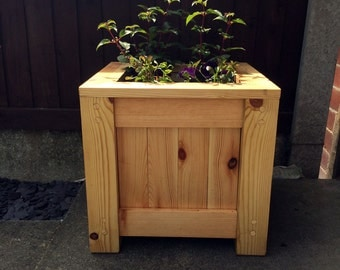 Handmade Outdoor Wooden Planter Box