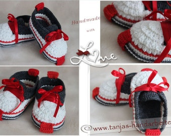 Sneaker Crochet Pattern