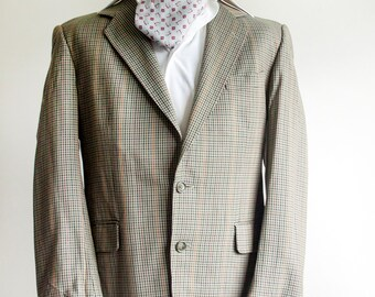 "Vintage 1970s MAGEE Irish Wool Lightweight Jacket 40"" Chest"