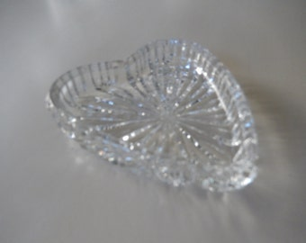 CRYSTAL HEART TRINKET Dish