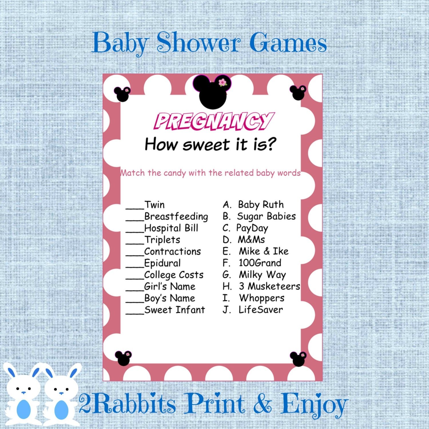 minnie mouse girl baby shower pregnancy how sweet it is minnie