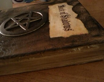 Book of Shadows for THE NEW WITCH Wicca Pagan Spells Book of Shadows grimoire Witch book of shadows Altar Journal  old