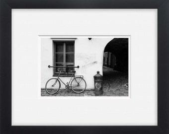 Old city,street photography, city bike