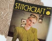 Stitchcraft Magazine No.164, Vintage Knitting Patterns