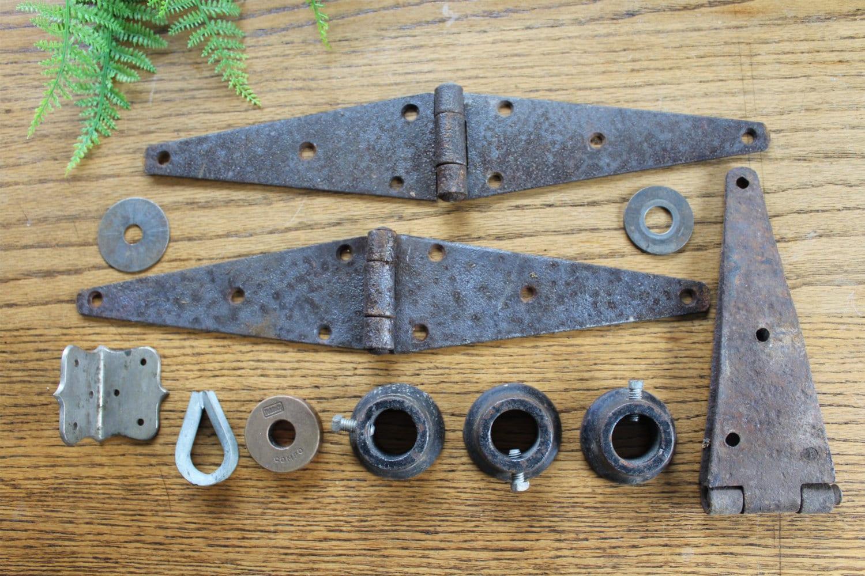 Industrial Metal Objects / Rusty Metal Tools / Steam Punk Art