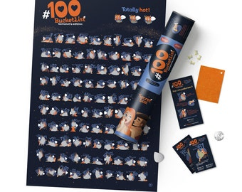 Poster #100 BUCKETLIST Kamasutra Edition. Free Shipping Worldwide!