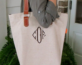 Natural Soft Canvas Tote Bag