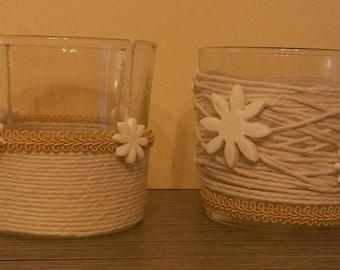 Candle holder (pair) size medium