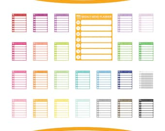 """Shop """"planner clipart"""" in General Supplies"""