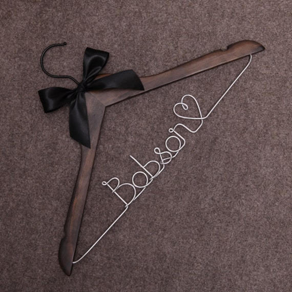 Mrs hanger wedding coat hanger wedding dress hanger by for Mrs hangers wedding dress