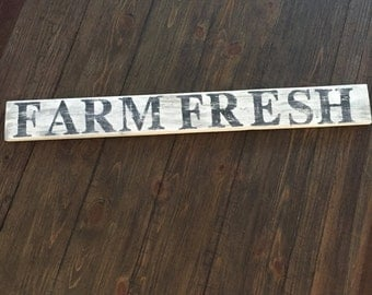 Rustic Farm House sign