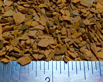 Crushed Goethite Crystal - Large Sand - 100% Natural Without Fillers
