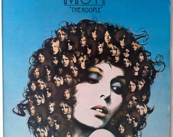 Mott The Hoople - The Hoople LP Vinyl Record Album, CBS - S 69062, Classic Rock, Blues Rock, 1974, Original UK Pressing