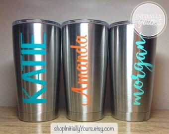 Personalized Yeti Rambler Tumbler 20oz, Yeti Cup, Custom Yeti, Personalized Yeti Gift, 20oz Yeti Cup, Personalized Gift, Christmas Gift Idea