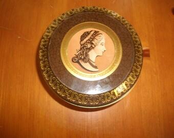 Roman Inspired Storage Tin