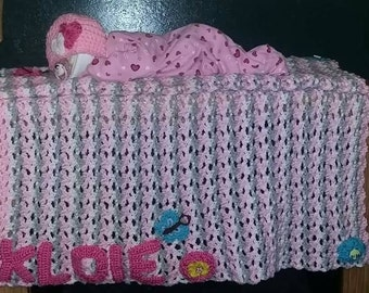 Diaper Baby with Baby Blanket Set