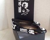 Jessica's SW Rebel Girl flats