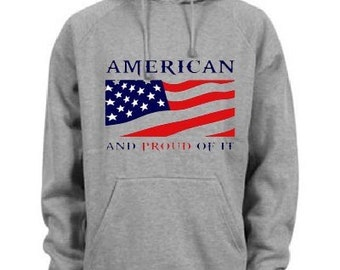 HOODIES - American and Proud of it