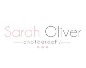 Pre-made Logo Design & Photography Watermark - Typography Logo - Logo Template - Branding - Watermark Design - Photography Logo 226