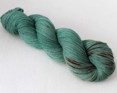The Hunter, Hand dyed BFL Sock 4-ply, 75/25 sw BFL/nylon
