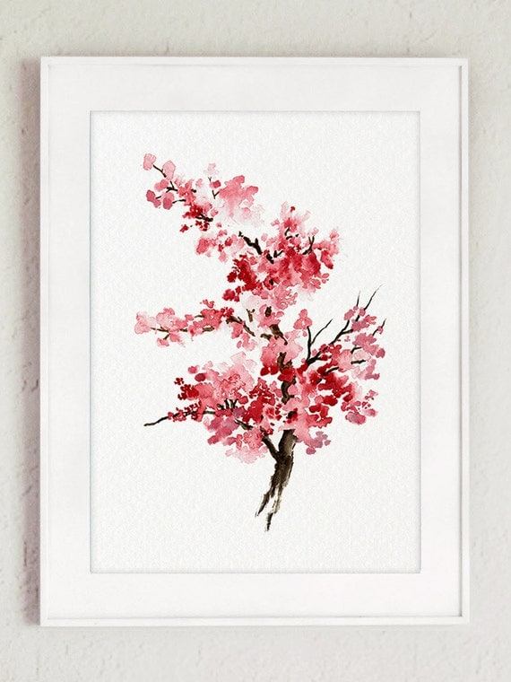 Mother's Day Cherry Blossom Set of 2 Japanese by ...