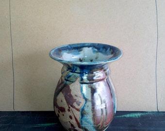 Raku Inspired Vase