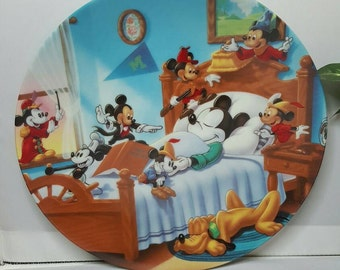 Disney Mickey Mouse Through The Years  Plate