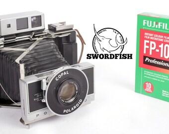 CatLABS Swordfish manual control Polaroid pack film camera (180 195 Tominon lens)