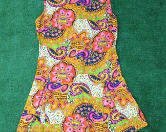 Psychedelic Playsuit 60s