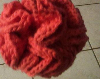 Crochet poufs