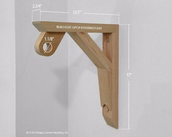 Hanging Wardrobe Coat Rack Amp Shelf BracketSet Of 2