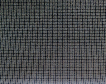 Woven fabric from Japan - diamonds - medium blue