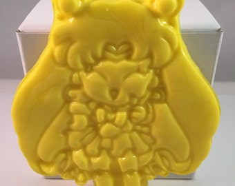 Anime Moon Princess Soap / Anime Sailor Soap / Anime Soap / 1.5 oz Soap / Goat Milk Soap / Party Favor